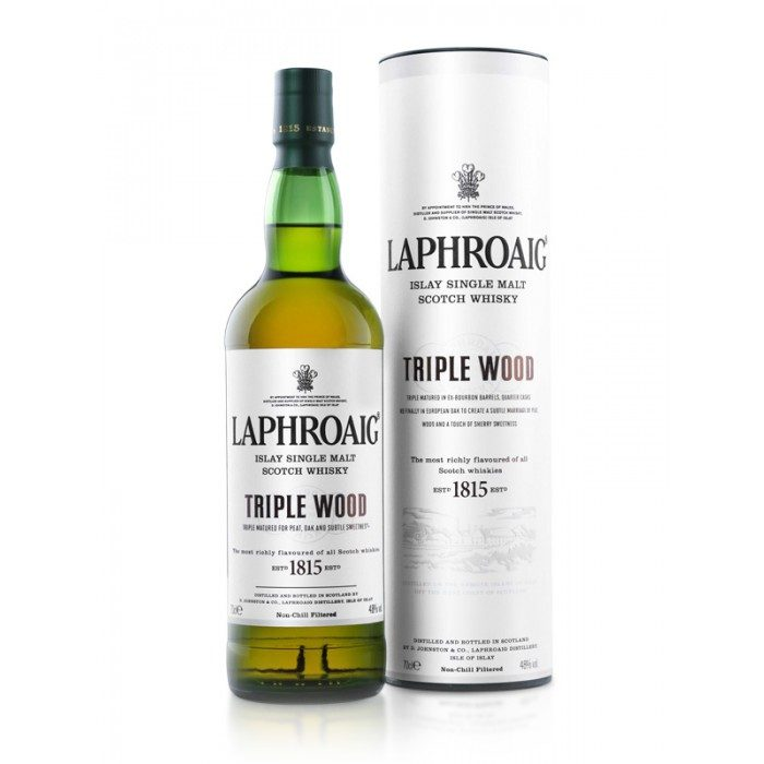 Laphroaig Triple Wood with box
