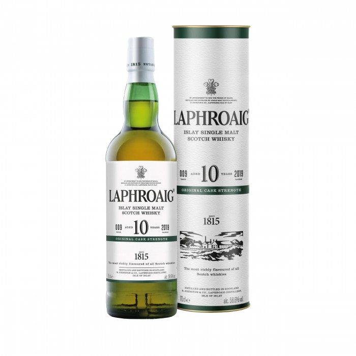Laphroaig 10 Year Old Original Cask Strength with box