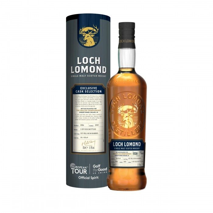 Loch Lomond The English Championship Rum Cask
