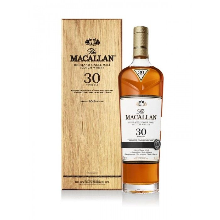 Macallan 30 Year Old Sherry Oak 2018