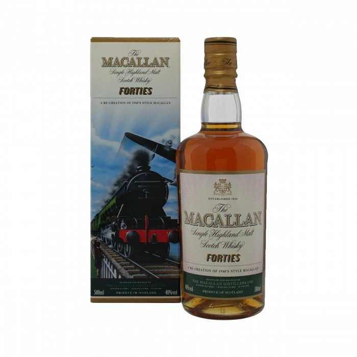 Macallan Decades Forties with box