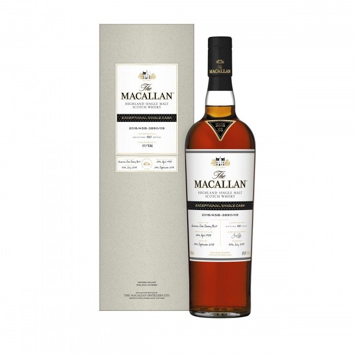 Macallan Exceptional Cask 1988 #3890