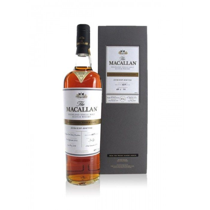 Macallan Exceptional Single Cask 8167/02