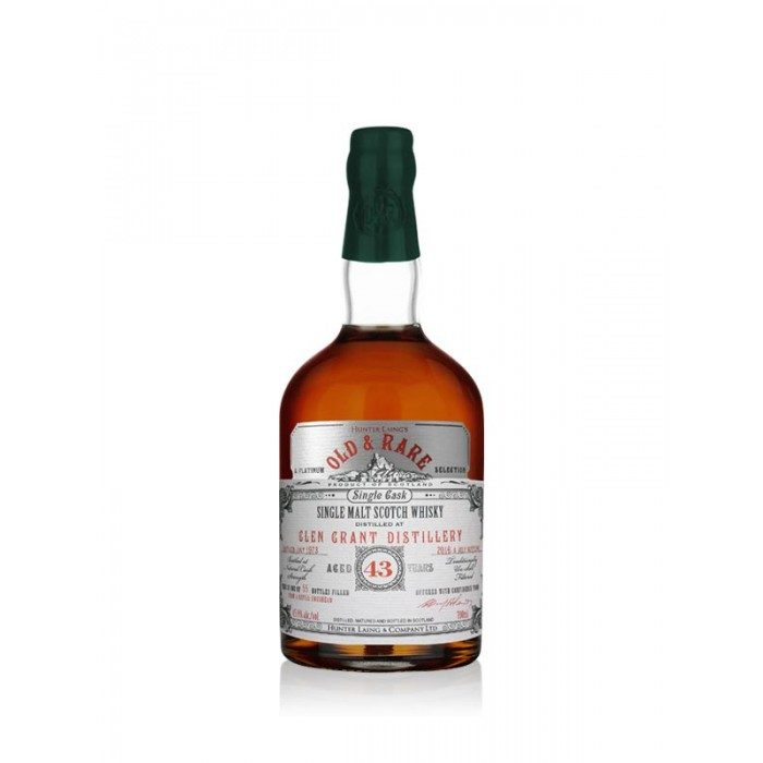 Glen Grant 43 Year Old Platinum Old & Rare