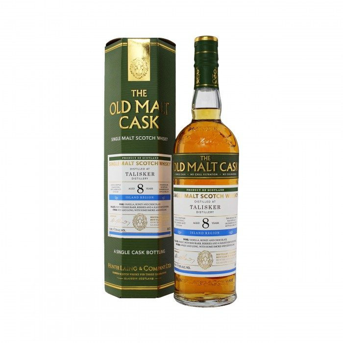 Old Malt Cask Talisker 8 Year Old with box