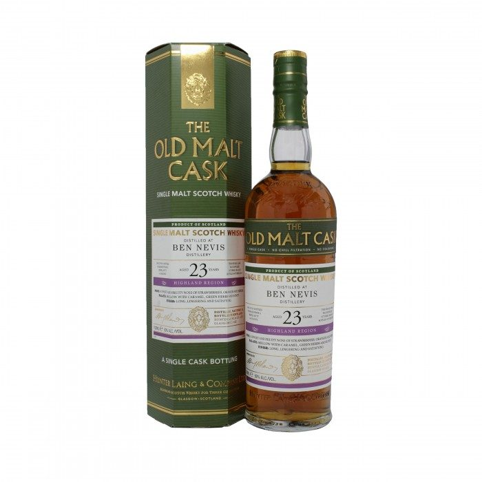 Old Malt Cask Ben Nevis 23 Year Old with box