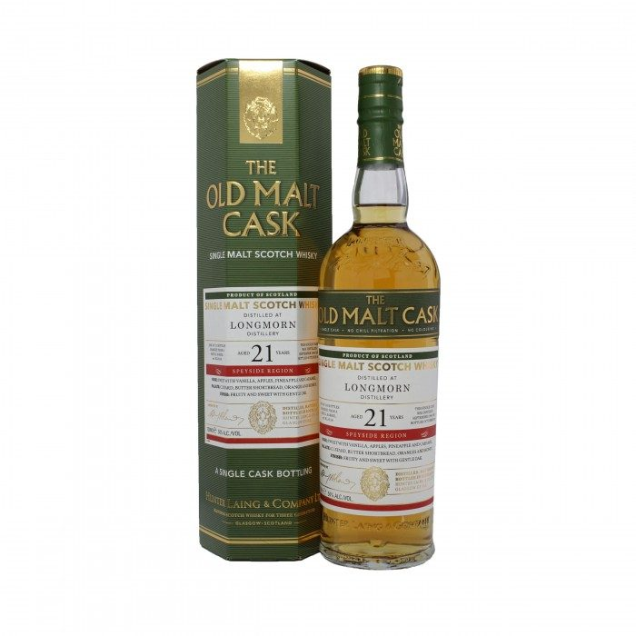 Old Malt Cask Longmorn 21 Year Old with box