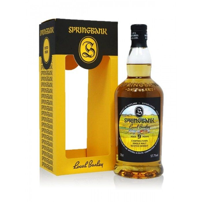 Springbank Local Barley 9 Year Old