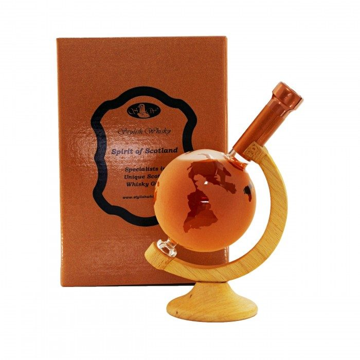 Stylish Whisky Globe Decanter 20cl with box
