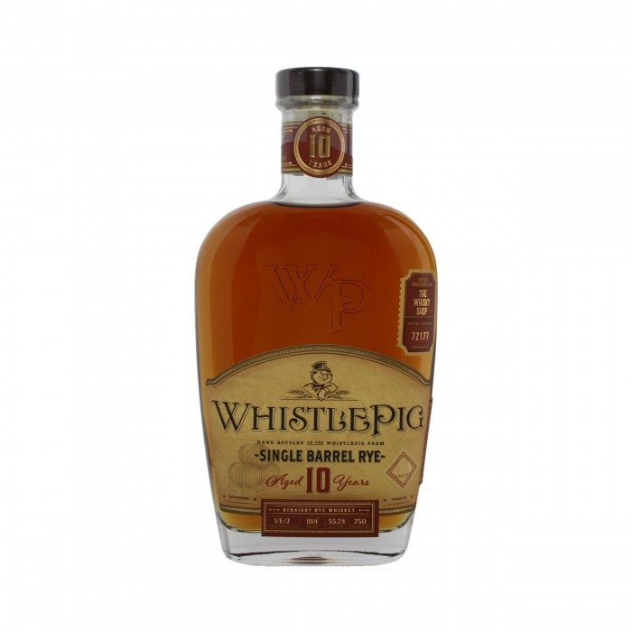 WhistlePig Single Barrel Rye 10 Year Old #72177