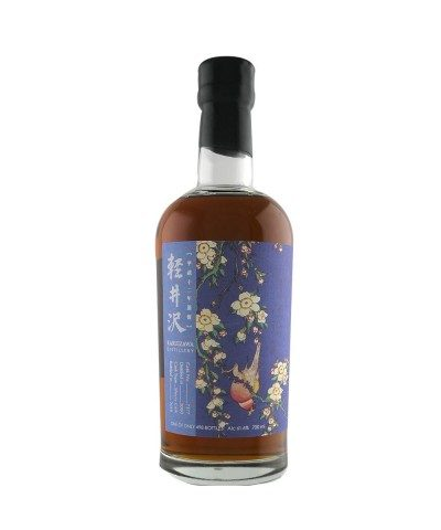 Karuizawa - Flower & Bird Series - Bullfinch and Weeping Cherry 2000 #7377