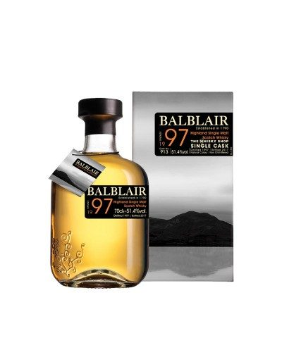 Balblair 1997 Single Cask The Whisky Shop Exclusive
