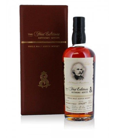 Authors' Series Probably Speyside's Finest 1968 50 Year Old - Nathaniel Hawthorne