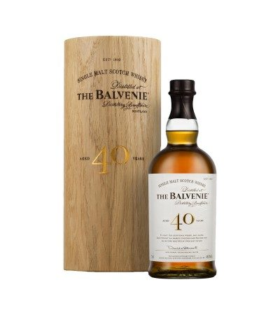 Balvenie 40 Year Old with case