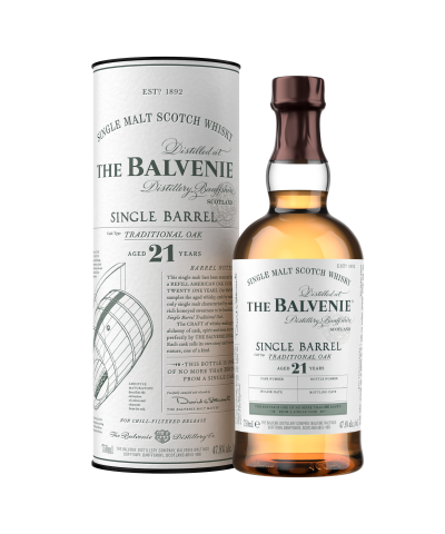 Balvenie 21 ans Single Barrel Traditional Oak 2020