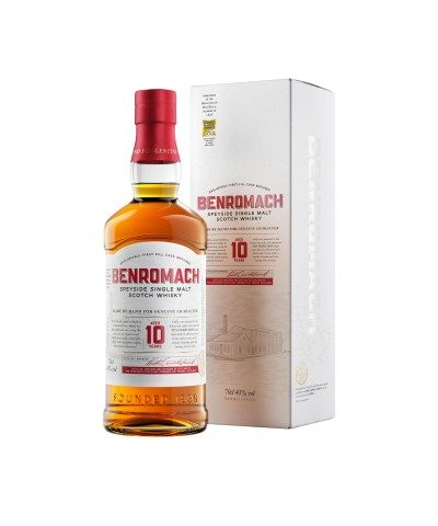 Benromach 10 Year Old with box