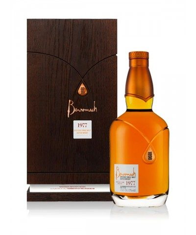 Benromach 1977 with case
