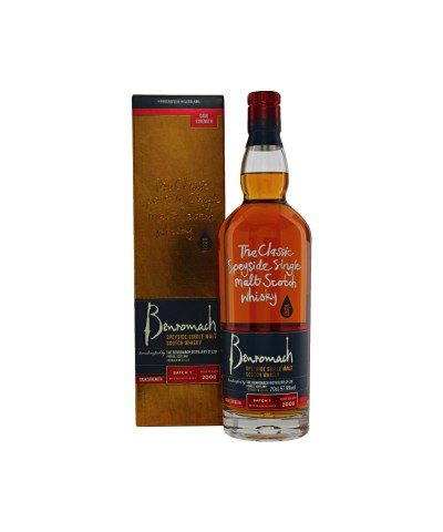 Benromach Cask Strength 2008 Batch 1 with box