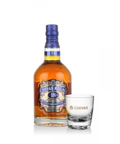 Chivas Regal 18 Year Old With Free Glass