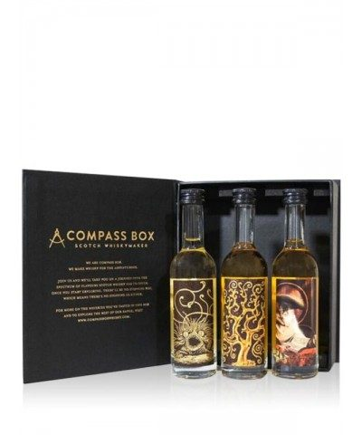 Compass Box Malt Whisky Collection in box