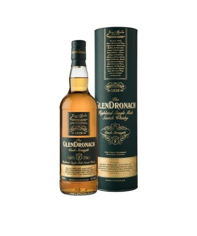 GlenDronach Cask Strength Batch 8 with box