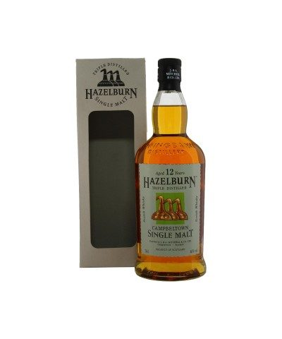 Hazelburn 12 Year Old with box