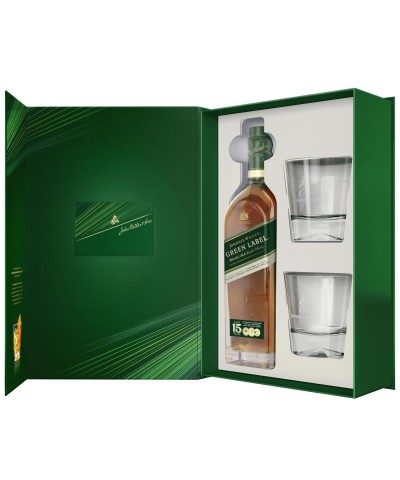 Johnnie Walker Green Label Gift Set