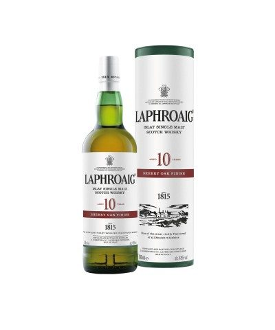 Laphroaig 10 Year Old Sherry Oak Finish