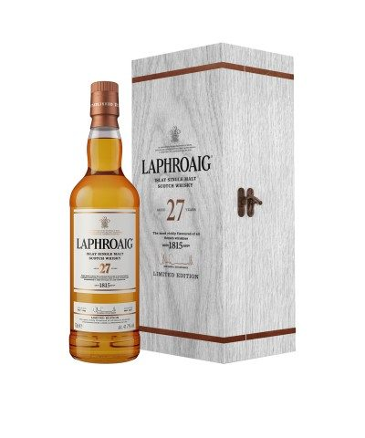 Laphroaig 27 Year Old with case