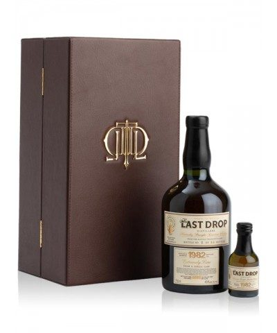 The Last Drop Buffalo Trace 1982 with case