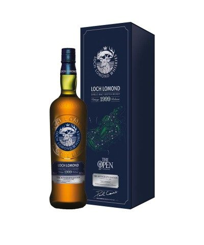 Loch Lomond 1999 Paul Lawrie Autograph Edition with box