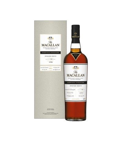 Macallan Exceptional Single Cask 1950 with case