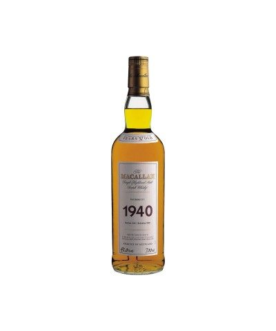 Macallan 1940 37 Year Old Fine & Rare