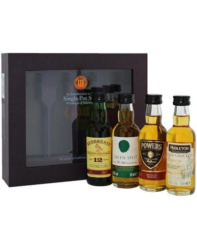 Midleton Single Pot Still Whiskey Gift Pack 4x5cl