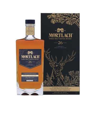 Mortlach 26 Year Old Special Releases 2019 with box