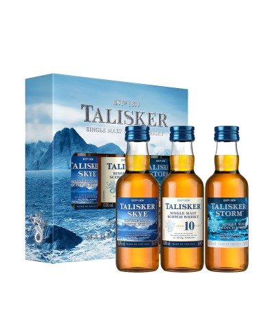 Talisker Exploration Gift Set 3x5cl