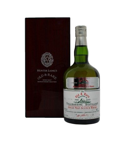 Tullibardine 30 Year Old Platinum Old & Rare with case