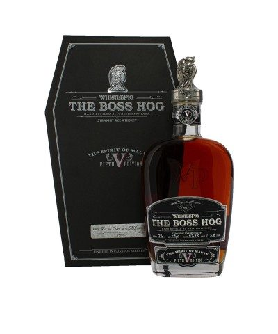 WhistlePig The Boss Hog V: The Spirit of Mauve with box