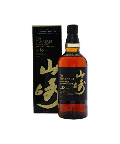 Yamazaki 18 Year Old with box