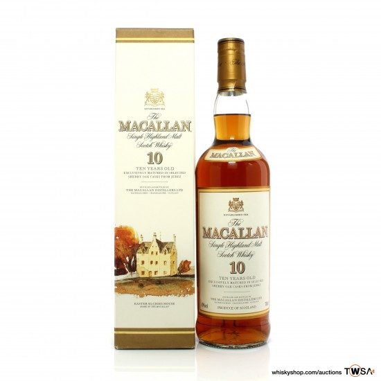 Macallan 10 Year Old 2000s