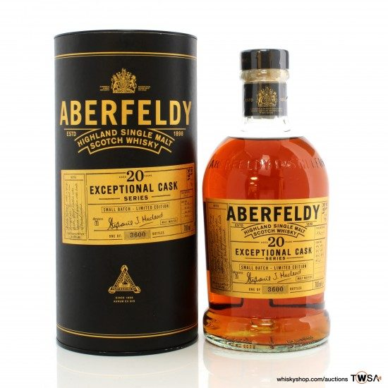 Aberfeldy 20 Year Old Exceptional Cask Series