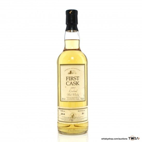 Littlemill 1983 20 Year Old Single Cask #2914 Direct Wines First Cask