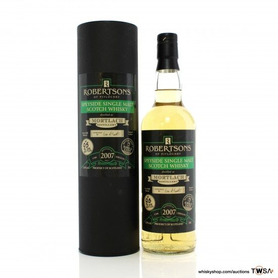 Mortlach 2007 Single Cask - Robertsons of Pitlochry