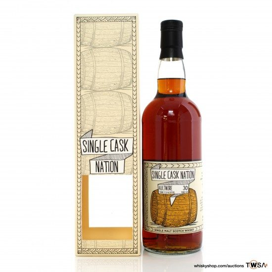 Aultmore 1989 30 Year Old Single Cask #2459 Single Cask Nation