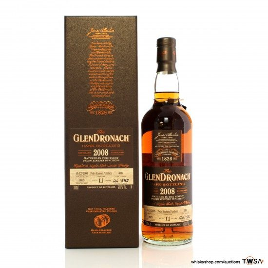 GlenDronach 2008 11 Year Old Single Cask #648
