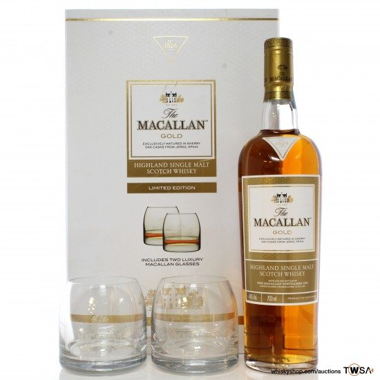 Macallan Gold Limited Edition Gift Set
