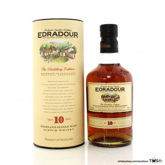 Edradour 10 Year Old The Distillery Edition