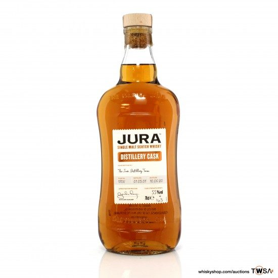 Jura 2001 19 Year Old Single Cask #1708 Distillery Cask