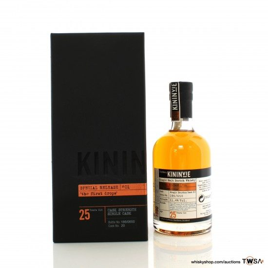 Kininvie 1990 25 Year Old Single Cask #20 The First Drops