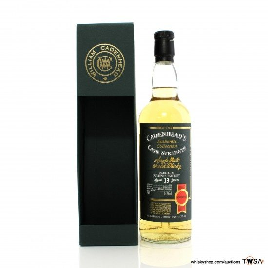 Old Pulteney 2006 13 Year Old Cadenhead's Authentic Collection